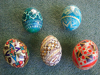£7.50 • Buy Real Hens Eggs - Blown, Hand Painted And Individually Decorated.