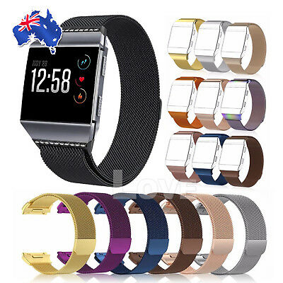 AU12.45 • Buy For Fitbit Ionic Smart Watch Band Milanese Replacement Wrist Strap Bracelet AU