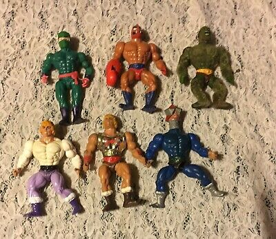 $29.99 • Buy 6 Vtg Master Of The Universe Figures Preowned