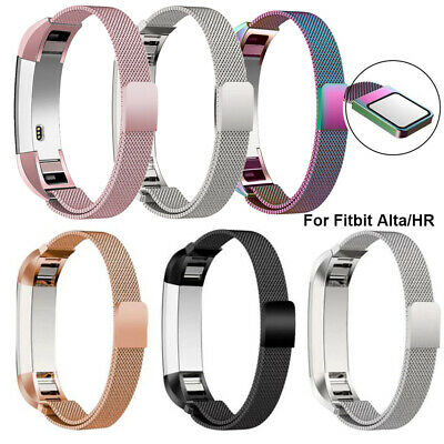 $ CDN9.99 • Buy For Fitbit Alta/Alta HR Magnetic Milanese Stainless Steel Watch Band Strap UK