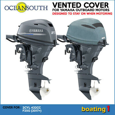 AU89.90 • Buy Yamaha Outboard Motor Engine Vented Cowling Cover 2CYL 432cc  F25G, F25C