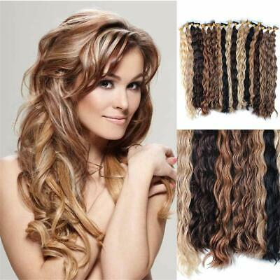 16 -30  Loose Wave 100% Russian Remy Human Hair Extensions Tape In Skin Weft 50g • 85.56£