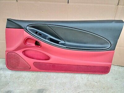 $199.99 • Buy ** 99-04 Ford Mustang RIGHT Side Door Panel Interior Panel J2982 OEM BLACK & RED