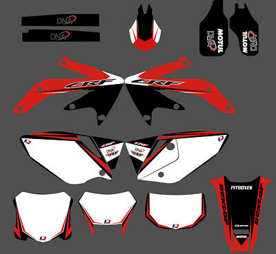 $54.99 • Buy 2004-2012 For Honda CRF450X CRF 450X Dirt Bike Stickers Decals Graphics Kit