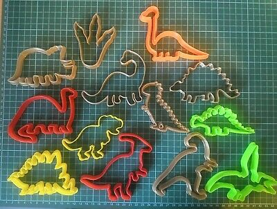 Dinosaur Cookie Cutters Biscuit,Pastry,Fondant,gingerbread CupCake Great For Kid • 2.45£