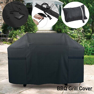 AU21.59 • Buy 67  BBQ Grill Cover 4 Burner Waterproof Outdoor Gas Charcoal Barbecue Protector