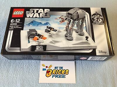 AU89.99 • Buy Lego Star Wars Exclusive 40333 Battle Of Hoth 20th Ann Ed New/Sealed/Hard 2 Find