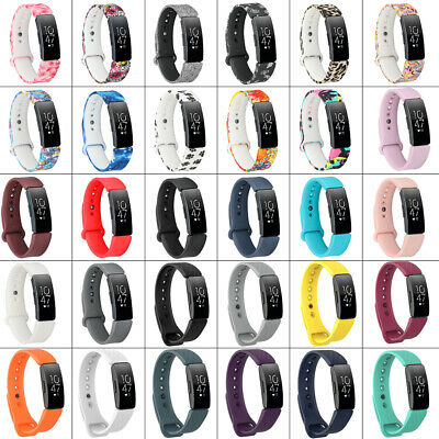 AU9.54 • Buy For Fitbit Inspire / Inspire HR Silicone Wristband Watch Band Strap With Clasps