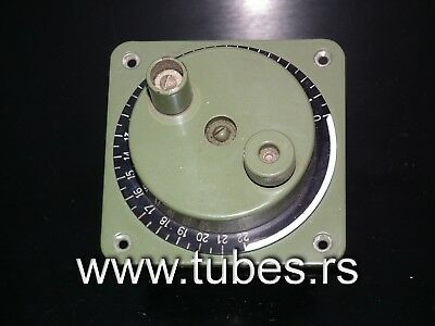 AU51.06 • Buy Large Vernier Dial Control Knob HF LINEAR AMPLIFIER Antenna Coupler From 60s