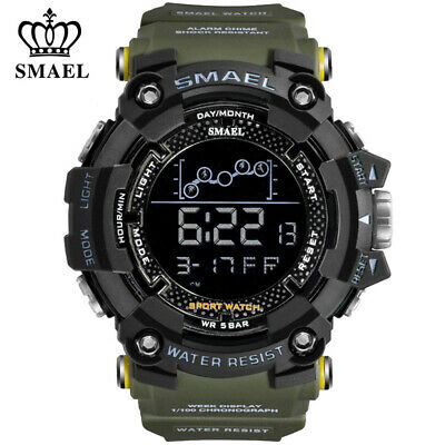 AU11.24 • Buy SMAEL Men Watch Military Digital Sport Watches For Boy LED Electronic Wristwatch