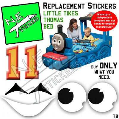 £3 • Buy Replacement Stickers SIZED TO FIT Little Tikes Thomas The Tank Engine Bed