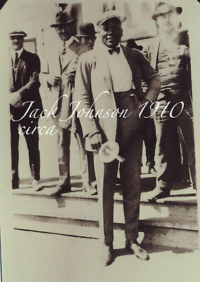 $13 • Buy Photo Of Jack Johnson  5 X 7 Boxer Heavyweight - RePrint