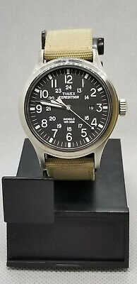 0874b179883a Timex T49962 Men s Expedition Scout Military Indiglo Nylon Band Watch  RUNNING • 25.99