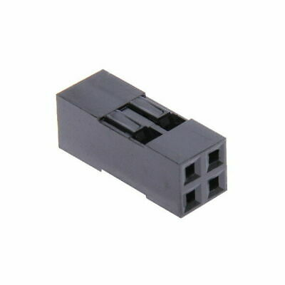 $4.99 • Buy [10x] Dupont  Wire Jumper Pin Header Connector Housing - 2x2 - Male / Female