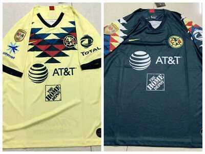 2019-2020 Club America Home/Away Soccer Jersey And A18 LIGA MX CAMPEON Patch  • 17.68$