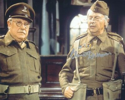 £49.99 • Buy CLIVE DUNN SIGNED DADS ARMY 8x10 PHOTOGRAPH 2 - UACC & AFTAL RD AUTOGRAPH