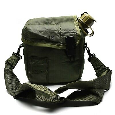 $ CDN32.84 • Buy Original U.S. Army Canteen 2 QT Water Bottle With Pouch Olive OD USA Surplus