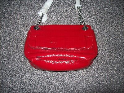 Gorgeous Small Red Bag From Lulu Guinness..bnwot..annabelle..leather • 80£