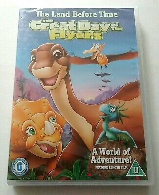 £3 • Buy The Land Before Time - THE GREAT DAY OF THE FLYERS DVD New & Sealed