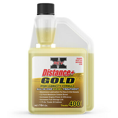 AU45.07 • Buy REV-X Distance + Gold Diesel Fuel System Cleaner - Cleans Turbo, Injectors & DPF