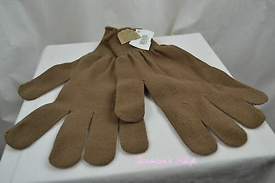 $6.99 • Buy Military Coyote Brown Wool Gloves / Inserts   New