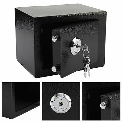 £18.95 • Buy 4.6l Solid Steel Safe Heavy Duty Fireproof Home Office Money Cash Valuables Box