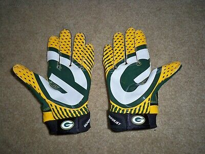 81022ae830c New Nike Vapro Jet 2.0 Nfl Green Bay Packers On Field Mens Gloves Size  Small •