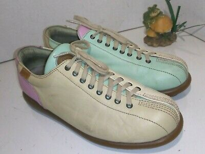 £31.94 • Buy Camper Multicolor Leather Sneakers Pelotas Laces Womens Size 40