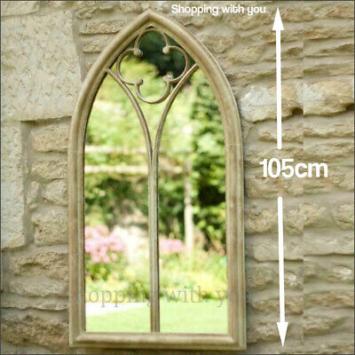 £135.99 • Buy Large Mirror Church Arch Garden/Home Mirror Beautiful Gothic Style Wall Mirror