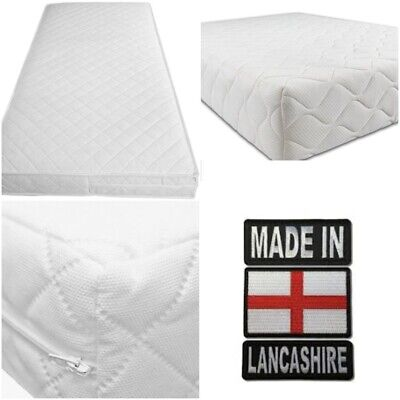 £58.99 • Buy Cot Bed Mattress 120 X 60 / 140 X 70 Pure Foam (24/48 Hour Delivery)* Made In UK