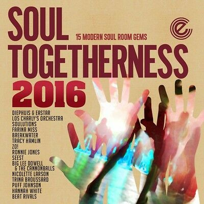Soul Togetherness 2016 - Ronnie Jones, Seest, Beat Rivals -   Cd New  • 45.98£