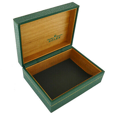 $ CDN427.62 • Buy Vintage Rolex Green Leather Box Wooden Interior Without The Pillow 67.00.08