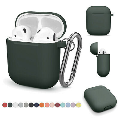 $ CDN5.24 • Buy Silicone Airpod Accessories Apple AirPods Case Cover Earphone Charging Case Skin