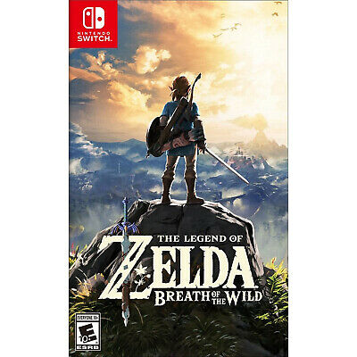 $43.70 • Buy The Legend Of Zelda: Breath Of The Wild Switch [Factory Refurbished]