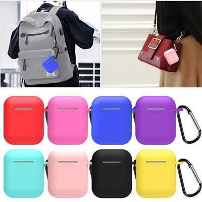 $ CDN4.06 • Buy Cute Candy Silicone Earphone Protective Cover For Apple AirPods Charging Case