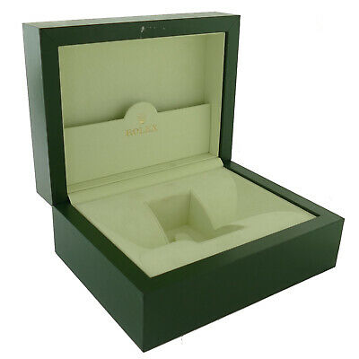 $ CDN167.04 • Buy Genuine Large Rolex Green  Box With Suede Interior Without Pillow