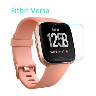 $ CDN2.80 • Buy 2x Tempered Glass Screen Protector Protective Film For Fitbit Versa Smart Watch