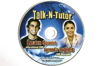 £10.61 • Buy Learn Spanish / Learn English / Spanish Course / English Course / Tutorial DVD