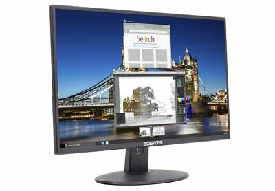 AU218.70 • Buy New Sceptre 20  LED Wide Screen Monitor AntiGlare With HDMI VGA PC Gaming Office