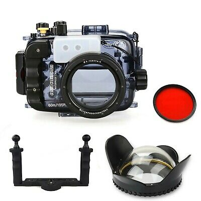 AU599 • Buy SeaFrogs 60m Underwater Camera Housing For Sony A6000 A6300 A6500 W/ Dome Port