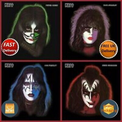 Kiss Picture Disc LPs X4 Ace Frehley Gene Simmons Peter Criss Paul Stanley NEW • 72.99£