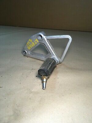 1989 honda gb500 gb 500 oem left foot peg assembly with bracket 50640-kn8-