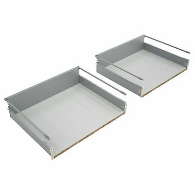 KITCHEN DRAWER FOR 500mm WIDE CABINET 2 PAN PACK B&Q  (0989) New Boxed • 19£