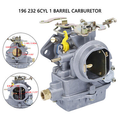 for holley 1 barrel carburetor 1904 1908 1909 6cyl fit ford 1960-1968 🔥