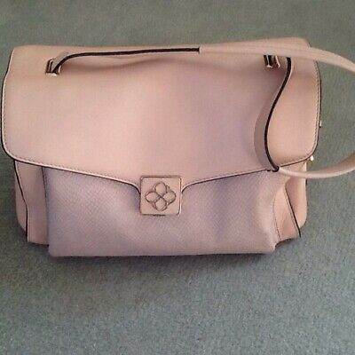 £35 • Buy Bailey & Quinn Pink Leather Bag Comes With Protector Bag Retailed @ £135.00