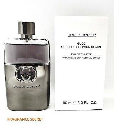 6d2ceaeb2 Gucci Guilty Pour Homme Edt 3.0 Oz / 90 Ml For Men (brand New Tester