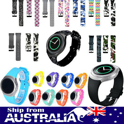 AU6.99 • Buy AU Sport Silicone Replacement For Samsung Galaxy Gear S2 R720 R730 Watch Band Xi
