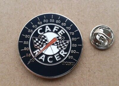 Cafe Racer Motorcycle Club Pin Badge Great Looking Badge   • 3.75£