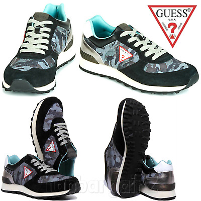 £39.99 • Buy Mens Trainers Casual Gym Sports Running Shoes Low Top Lace Up GUESS UK Size 6-11