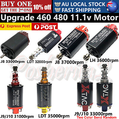 AU33.20 • Buy 11.1v Upgrade Motor Gel Blaster High Speed For Jinming Gen 8 Gen 9 M4A1 J10 ACR